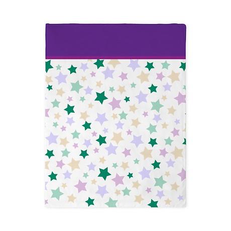 Pastel Stars Pattern Twin Duvet