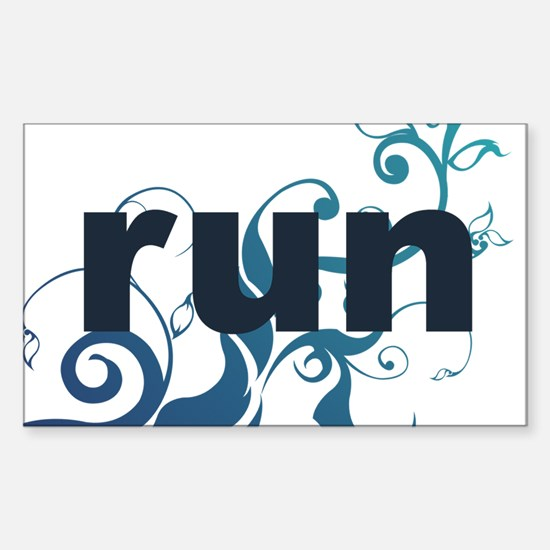 runblue_sticker.png Sticker (Rectangle)