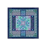 Celtic Atlantis Opal Square Sticker 3