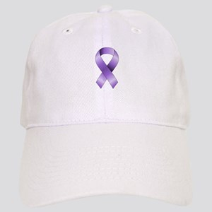 Purple Ribbon Cap