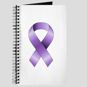 Purple Ribbon Journal