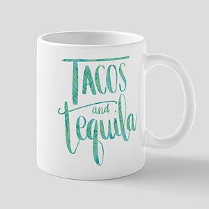 Tacos and Tequila Print 11 oz Ceramic Mug