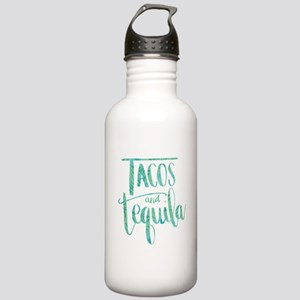 Tacos and Tequila Prin Stainless Water Bottle 1.0L