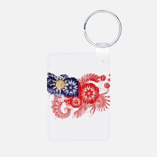 Taiwan textured flower aged copy.png Keychains