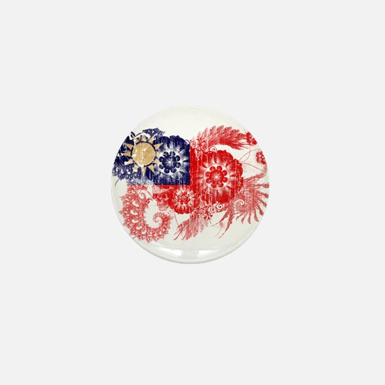 Taiwan textured flower aged copy.png Mini Button