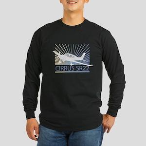 Aircraft Cirrus SR22 Long Sleeve Dark T-Shirt