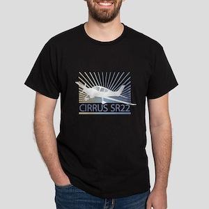 Aircraft Cirrus SR22 Dark T-Shirt