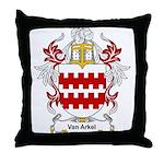 Van Arkel Coat of Arms Throw Pillow