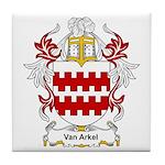 Van Arkel Coat of Arms Tile Coaster