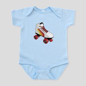 Retro Roller Skate Infant Bodysuit