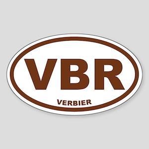 Verbier Sticker (Oval)