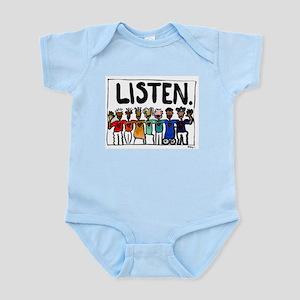 Listen Infant Bodysuit