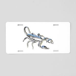 Chrome Scorpion 1 Aluminum License Plate