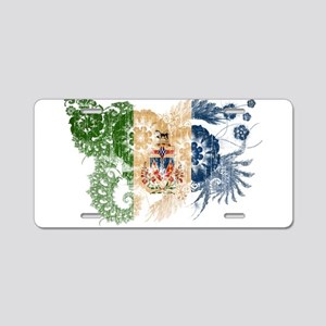 Yukon Territories Flag Aluminum License Plate