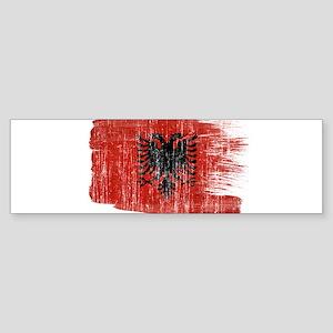 Albania Flag Sticker (Bumper)