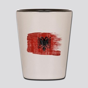 Albania Flag Shot Glass