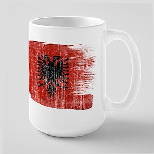 Albania Flag Large Mug
