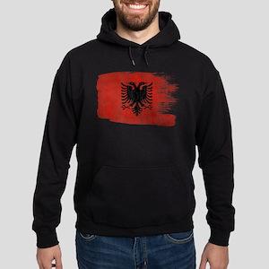 Albania Flag Hoodie (dark)