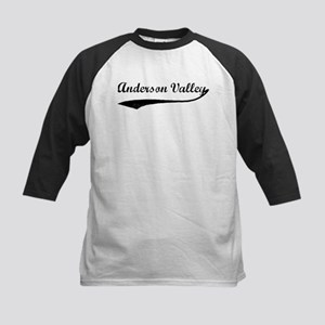 Anderson Valley - Vintage Kids Baseball Jersey