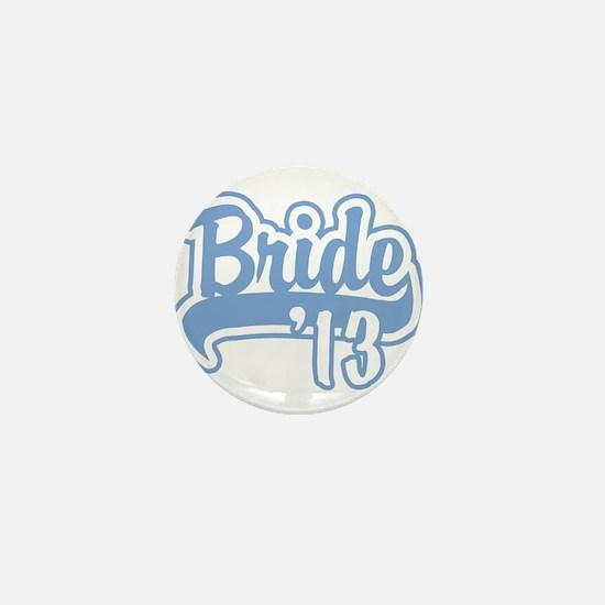Baseball Blue Bride 2013 Mini Button