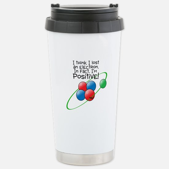 I'm Positive Stainless Steel Travel Mug