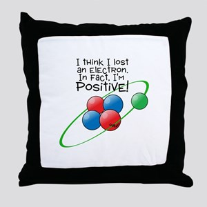 I'm Positive Throw Pillow