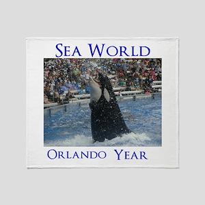 Sea World Throw Blanket