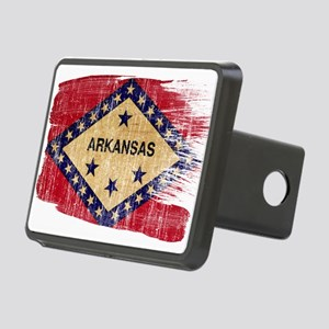 Arkansas Flag Rectangular Hitch Cover