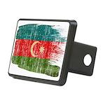 Azerbaijan Flag Rectangular Hitch Cover