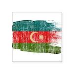 Azerbaijan Flag Square Sticker 3