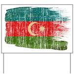 Azerbaijan Flag Yard Sign
