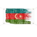 Azerbaijan Flag Banner