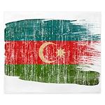 Azerbaijan Flag King Duvet