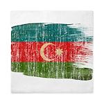 Azerbaijan Flag Queen Duvet