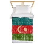 Azerbaijan Flag Twin Duvet