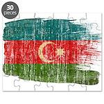 Azerbaijan Flag Puzzle