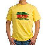 Azerbaijan Flag Yellow T-Shirt