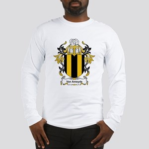 Van Ameyde Coat of Arms Long Sleeve T-Shirt