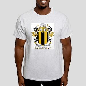 Van Ameyde Coat of Arms Ash Grey T-Shirt