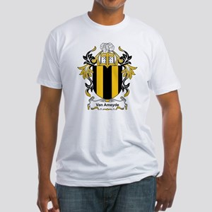 Van Ameyde Coat of Arms Fitted T-Shirt