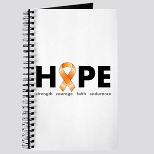 Orange Ribbon Hope Products Journal