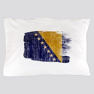 Bosnia and Herzegovina Flag Pillow Case