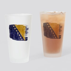 Bosnia and Herzegovina Flag Drinking Glass