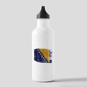Bosnia and Herzegovina Flag Stainless Water Bottle