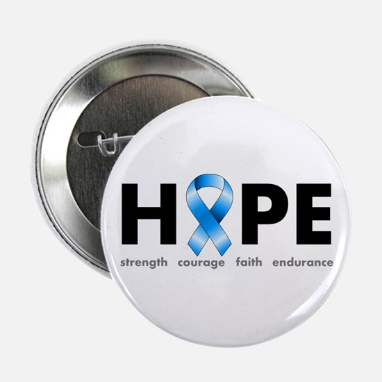 "Blue Ribbon Hope 2.25"" Button"