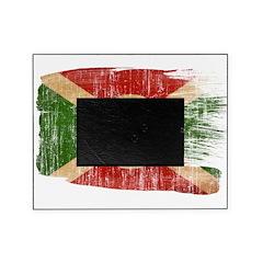 Burundi Flag Picture Frame
