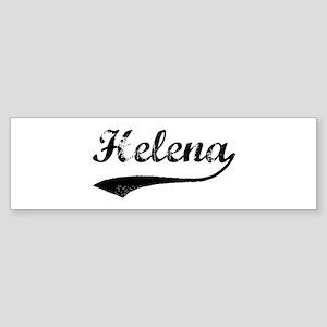 Helena - Vintage Bumper Sticker