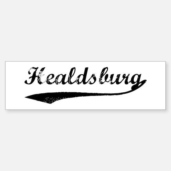 Healdsburg - Vintage Bumper Bumper Bumper Sticker