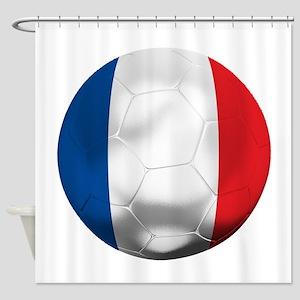 France Football Shower Curtain