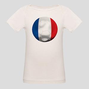 France Football Organic Baby T-Shirt